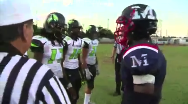 Watch Hs Players Flagged Before Coin Toss For Refusing To Shake