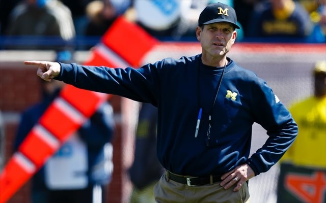 Jim Harbaugh has no problem singling out opposing coaches. (USATSI)