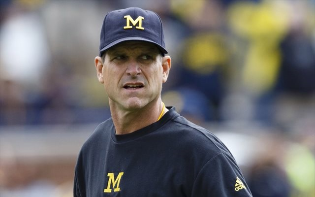 Jim Harbaugh earned a  million dollar salary - leaving the net worth at 15 million in 2018