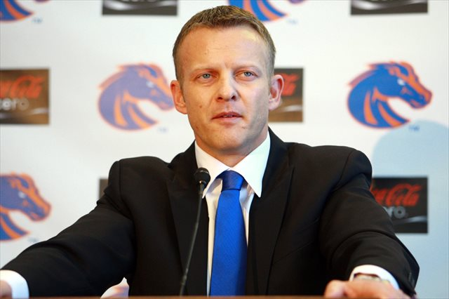 Before the NCAA's decision, Bryan Harsin said Boise's hands were tied. (USATSI)