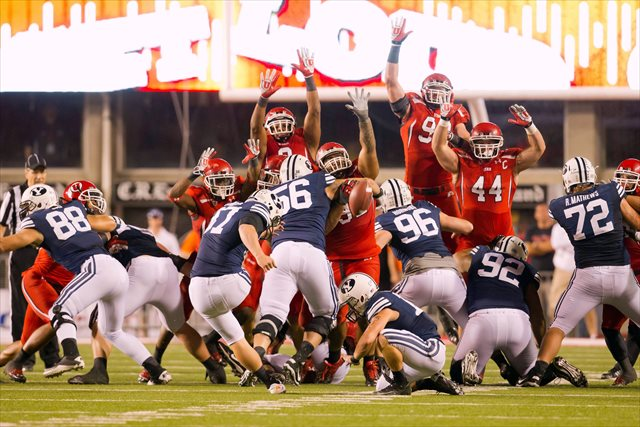 BYU and Utah will play four times in the next six years. (USATSI)