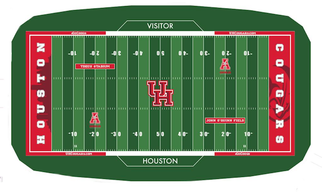Houston turf design TDECU Stadium