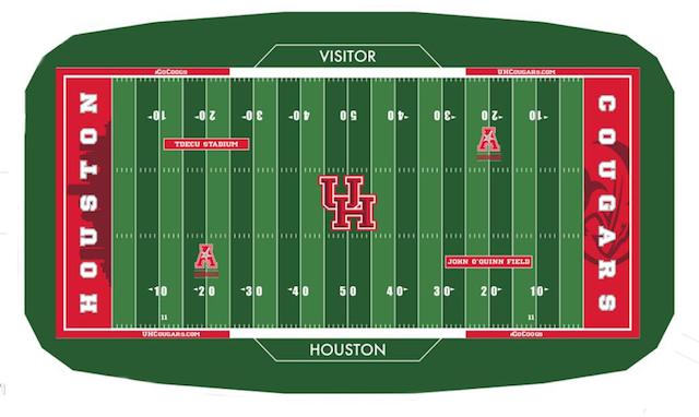 Houston turf design TDECU Stadium