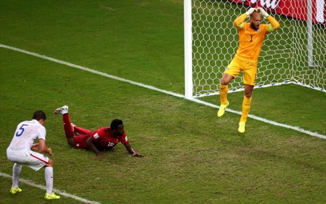 Yes, that happened. (Getty Images)