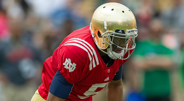 Notre Dame had a rough offseason with some academic issues. (USATSI)