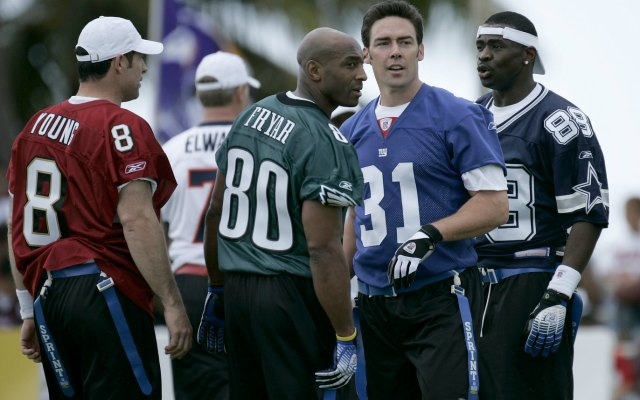Irving Fryar spent much of his career in New England but also played in Philadelphia. (USATSI)