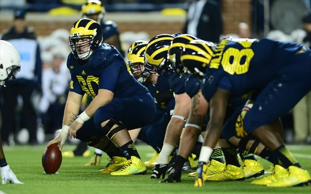 Jack Miller (No. 60) said he didn't report concussions to Michigan trainers. (USATSI)