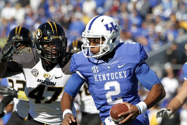 Jalen Whitlow started 15 games for Kentucky the past two seasons. (USATSI)