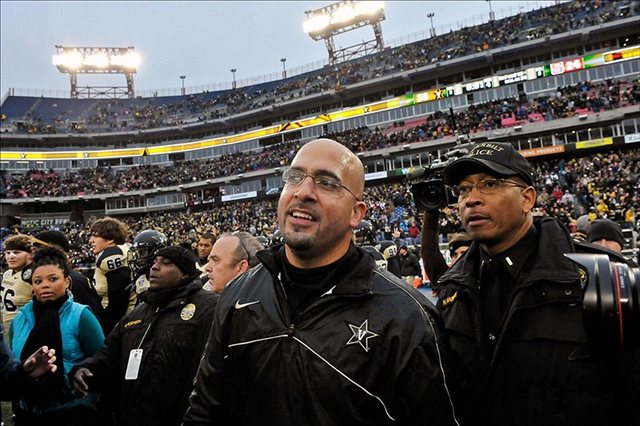 James Franklin has somehow led Vanderbilt to back-to-back bowls. (USATSI)
