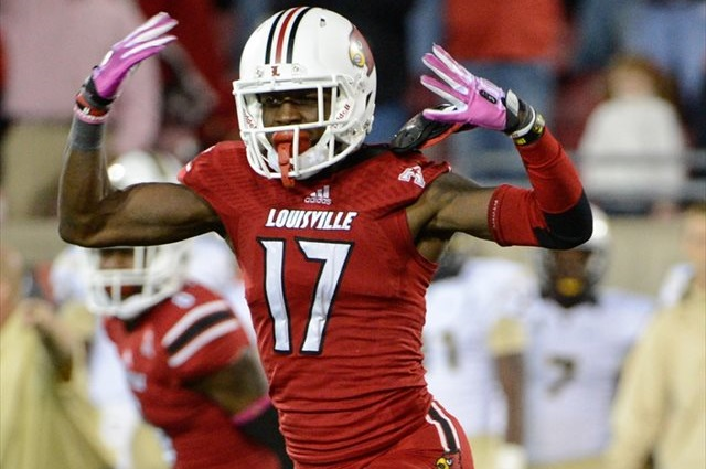James Quick caught six passes for 73 yards as a freshman. (USATSI)