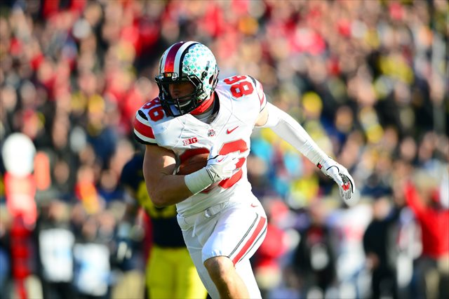 Jeff Heuerman was Ohio State's third-leading receiver in 2013. (USATSI)