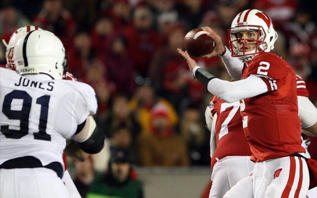 Joel Stave started 13 games for Wisconsin in 2013. (USATSI)