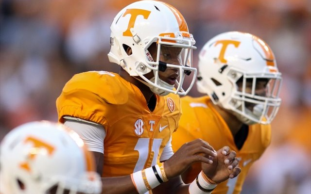 Josh Dobbs will be looking for the biggest win of his career. (USATSI)