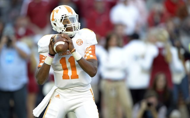 Josh Dobbs was a four-star recruit. (USATSI)