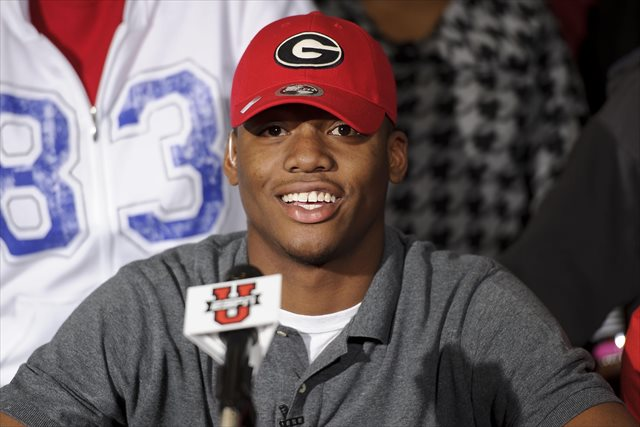 Former blue-chip signee Josh Harvey-Clemons will have to wait for his first career start at Georgia. (USATSI)