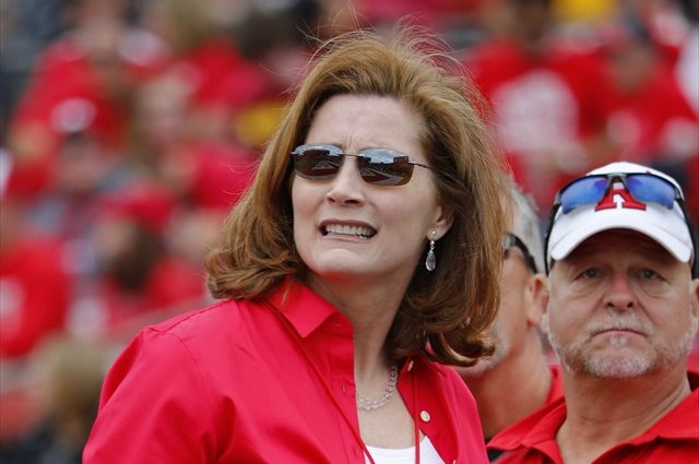 Julie Hermann was hired in June 2013. (USATSI)