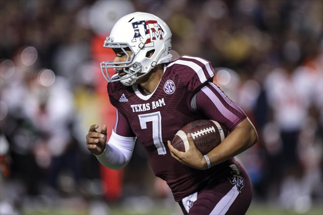 Kenny Hill appeared in five games in 2013. (USATSI)