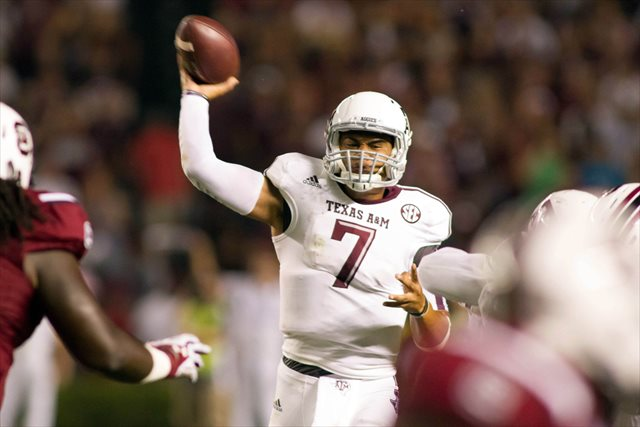 Kenny Hill threw for a mere 511 yards vs. South Carolina. (USATSI)