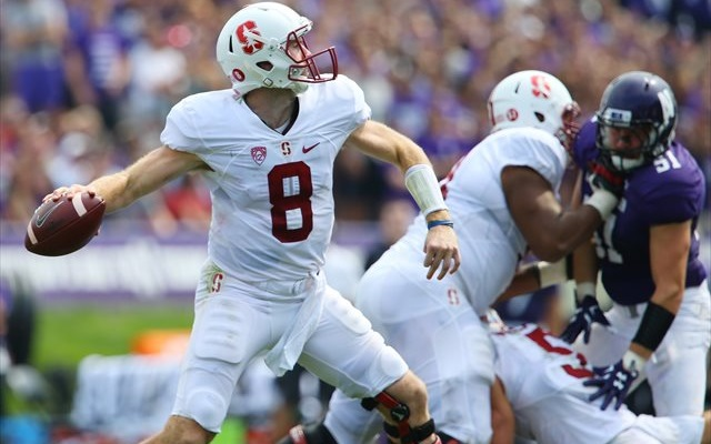 Kevin Hogan couldn't get Stanford past Northwestern on the road. (USATSI)