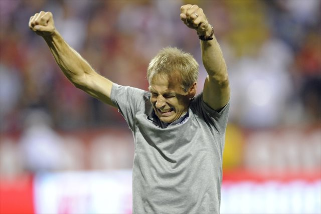 Celebrate, Jurgen. You've earned it. (USATSI)