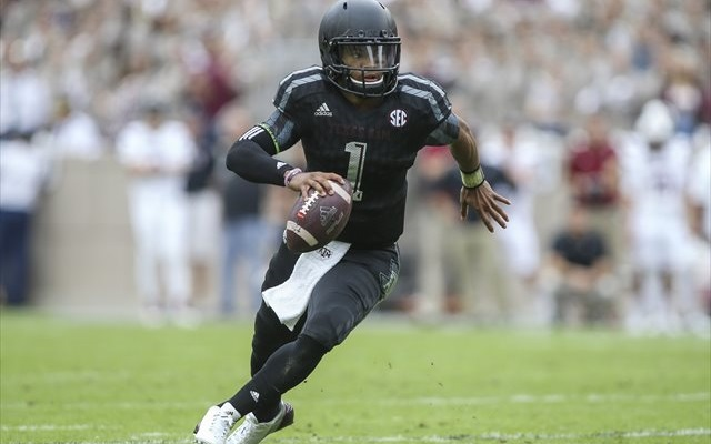 Kyler Murray led Texas A&M to a win in his first career start. (USATSI)