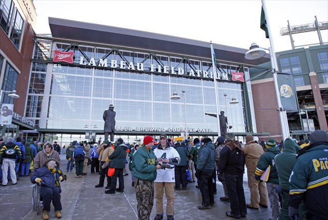 Could LSU really pay Lambeau Field a visit in the future? (USATSI)