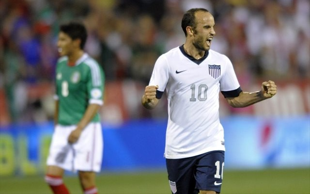 Landon Donovan won't be celebrating any goals at Brazil 2014. (USATSI)