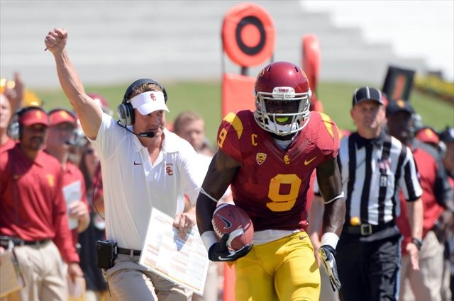Can Lane Kiffin and Marqise Lee run to a victory in the desert? (USATSI)