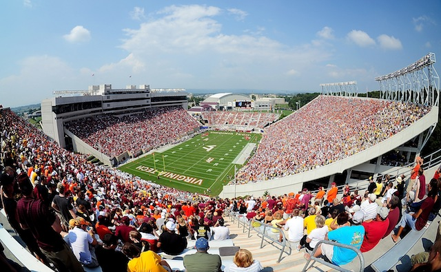 There could be an unusual sight at Lane Stadium this week: empty seats