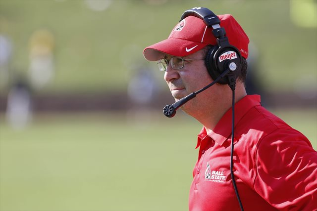 Pete Lembo is 25-13 in three seasons at Ball State. (USATSI)