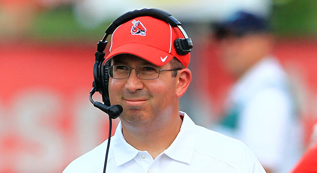 Pete Lembo guided Ball State to nine wins last year and is 10-2 this season. (USATSI)