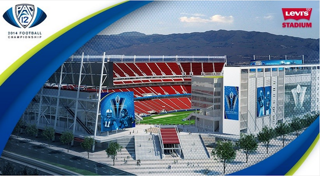 Pac-12 Championship Game to be played at Levi's stadium