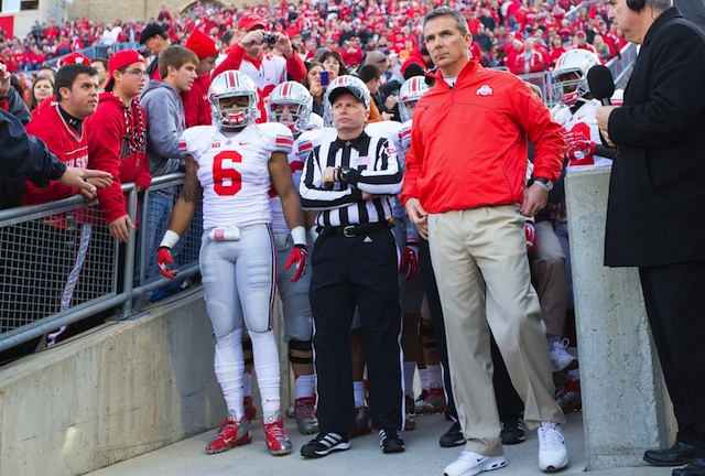 After going 12-0 in 2012, Ohio State is a heavy favorite to win the Big Ten in 2013. (USATSI)