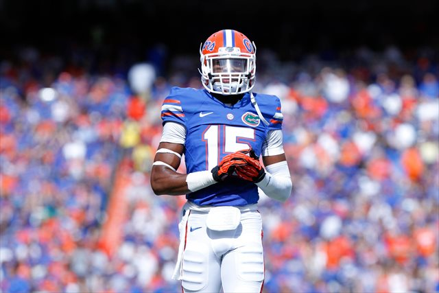 Loucheiz Purifoy is expected to be a top corner in the draft. (USATSI)
