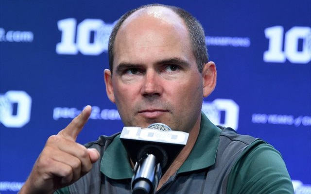 Mark Helfrich desires much more 'fairness' in NCAA drug testing policy. Helfrich stated he'd been advised the Ducks had been the only one of your 4 CFP teams in which ended up subjected to the NCAA's random drug testing. A New failed team-administered test would also outcome in a team-administered punishment. (USATSI)