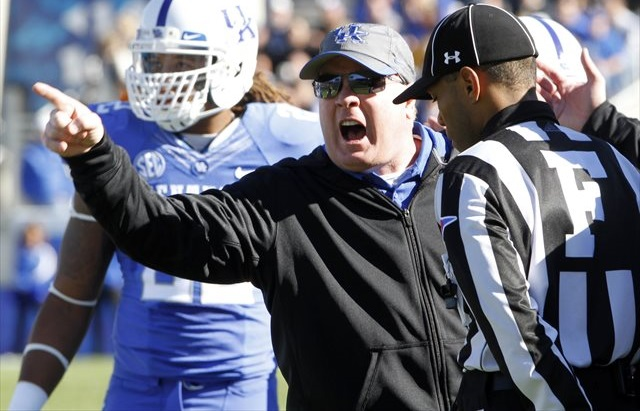 Can Mark Stoops win Kentucky's first SEC game since 2012? (USATSI)