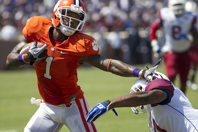 Martavis Bryant is Clemson's second-leading receiver in 2013. (USATSI)