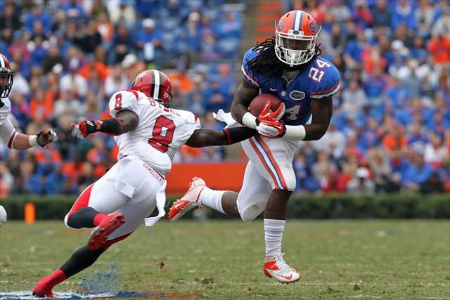 Matt Jones' viral infection has proven to be a major preseason issue for Florida. (USATSI)