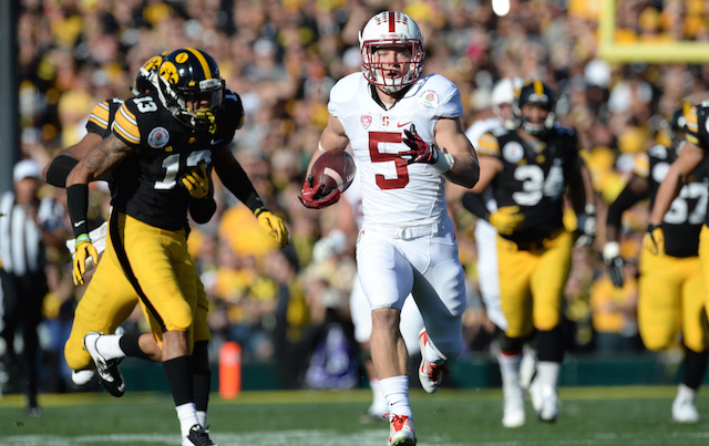 stanford football score cbs sports standings