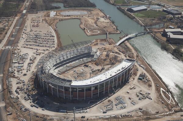 McLane Stadium will be ready for the 2014 season. (@McLaneStadium)