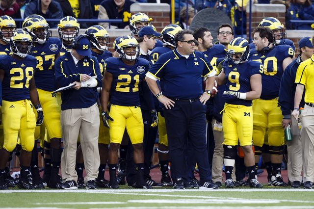 Brady Hoke's Wolverines aren't filling their fans with happiness. (USATSI)