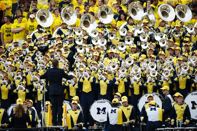 Michigan has plenty of nonconference matchups to toot its horns about. (USATSI)