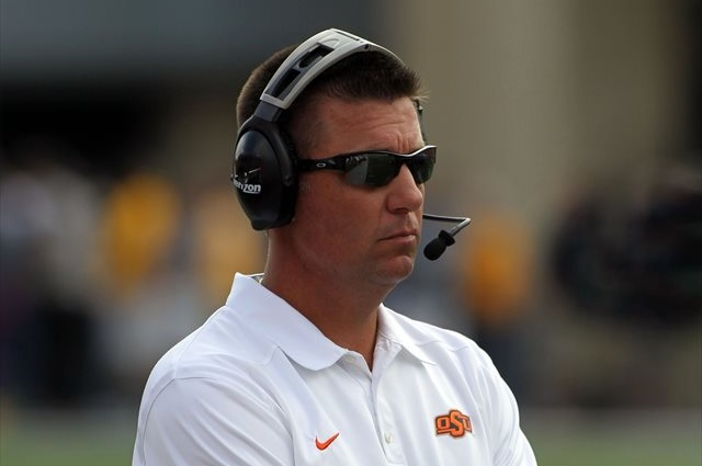 Mike Gundy is still looking for consistency from the quarterback position. (USATSI)