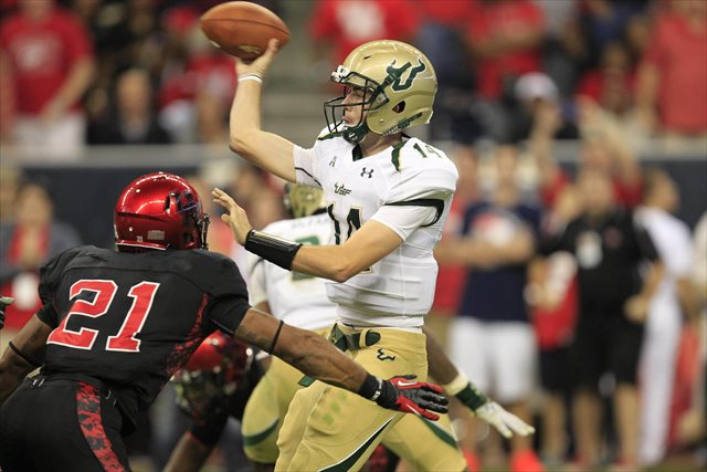 Mike White started five games for USF in 2013. (USATSI)