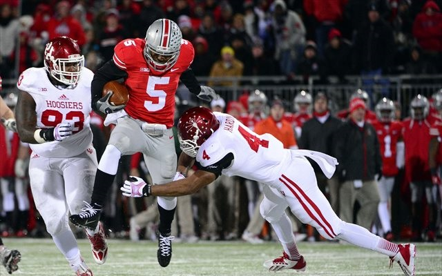 Braxton Miller is hoping for a small leap up the polls. (USATSI)