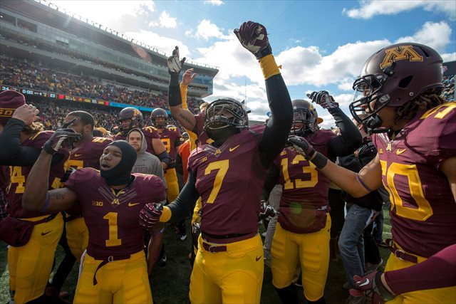 Can the Gophers make it three upsets in three weeks? (USATSI)