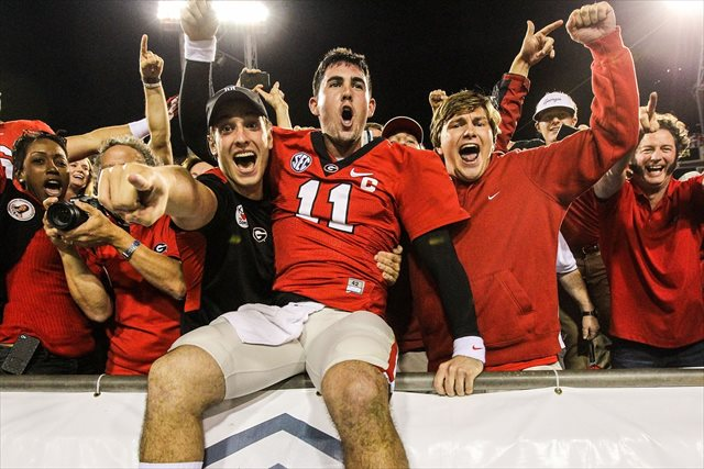 Will Aaron Murray celebrate another Cocktail Party victory? (USATSI)