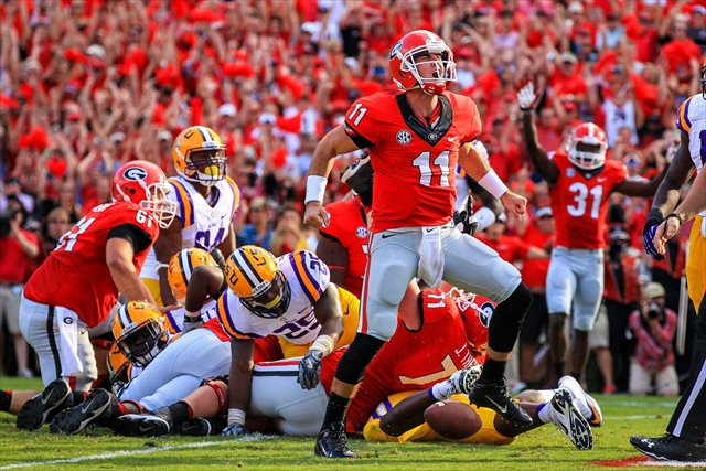 Aaron Murray and Georgia won a classic. (USATSI)