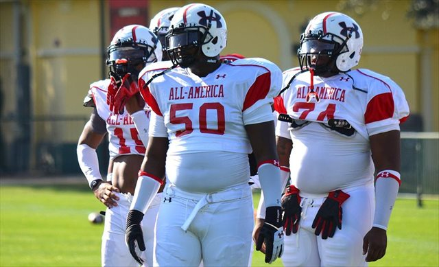 Na'Ty Rodgers (No. 50 was a 2013 Under Armour All-American. (247Sports)