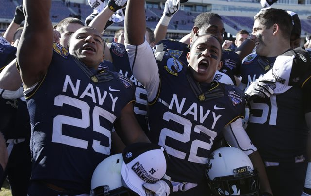 Navy will give the American 12 teams in 2015. (USATSI)